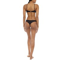 Muse Low Rise Cheeky Bikini Bottom - Black