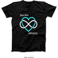 Shawn Mendes I Love Shawn Mendes Beside Mens T Shirt