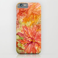 hello Hibiscus iPhone & iPod Case by Rosie Brown