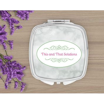 Personalized Compacts | Custom Compacts | Makeup & Cosmetics | Company Logo