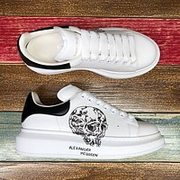 Alexander McQueen Classic white shoes