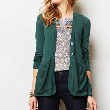 Sweep-Front Cardigan