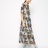 Antipodium Fauxhemia Dress in Underwater Print