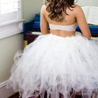 Tutu Skirt/ Adult women size/ wedding/ party/ tulle skirt/ sexy skirt