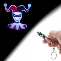 Batman Harley Quinn Flashlight Keychain