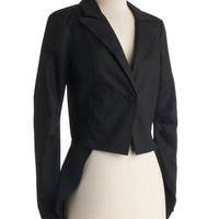 On Topcoat of Things Blazer | Mod Retro Vintage Jackets | ModCloth.com