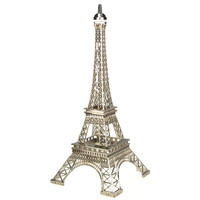 Paris France Eiffel Tower Stand, 20-inch, Silver
