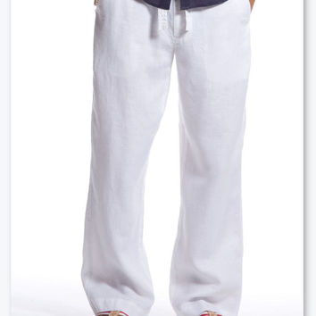 Man white grey blue green cofee milk pants linen beach wedding party special occasion birthday  summer