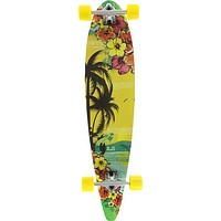 Punked Tropic Day Pintail 9.75x40 Longboard Complete