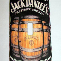 Light Switch Cover - Light Switch Plate Jack Daniels Whiskey