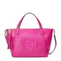 shosouvenir : Gucci Women Leather Shoulder Bag Satchel Tote Handbag