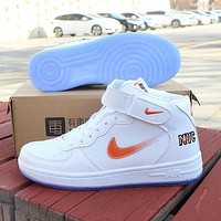 Nike Air Force 1 High-Top Men's and Women's Fashion Sneakers Shoes 1