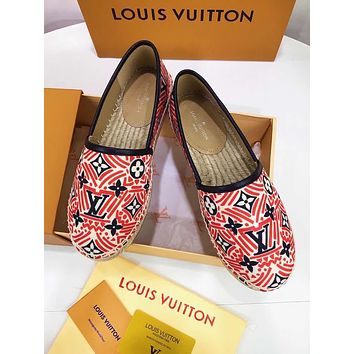 lv louis vuitton women casual shoes boots fashionable casual leather women heels sandal shoes 136