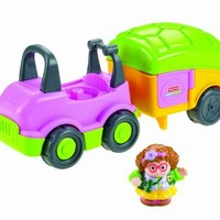Fisher Price Little People Car and Camper