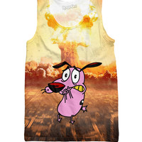 Courage the Cowardly Dog Tank Top