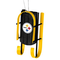 Pittsburgh Steelers  Official NFL Resin Sled Ornament