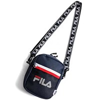 FILA 2018 new female fashion trend purse shoulder bag F-A30-XBSJ Blue