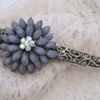 Decorative Large Alligator Clip Hair Accessories Clips for Hair Prom Homecoming Wedding Bridesmaids Mother of the Bride