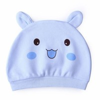 2017 New Lovely Cartoon Animal 1PC Baby Infants Cotton Warm Soft Hat Cap Beanie Kids Hats 0-3M