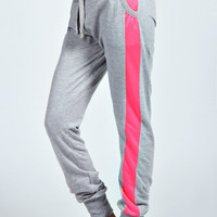 Lucia Contrast Side Joggers