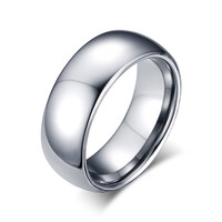 Meaeguet Trendy Tungsten Party Wedding Bands For Men Tcr-001s