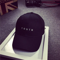 Letter Youth Printed Cap Hat Duck Boot Strapback snapback Cap gorras for Women Men CF