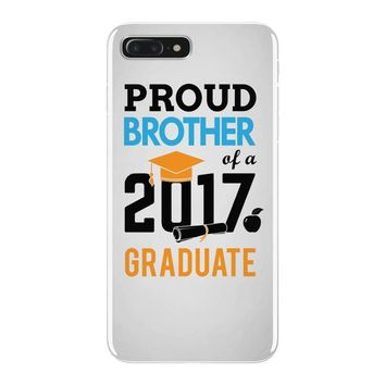 Class of 2017 Proud Brother Graduation iPhone 7 Plus Case