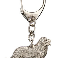 Bernese Mountain Dog Made in U.K Artistic Style Dog Key Ring Collection