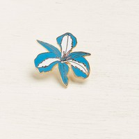 **Jungle Flower Lapel Pin**