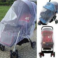 Outdoor Baby Stroller Mosquito Insect Net Mesh Buggy Cover