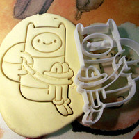 Finn Adventure time Cookie Cutter - Made from Biodegradable Material