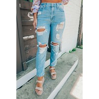 Fremont Street Jeans: Light Denim