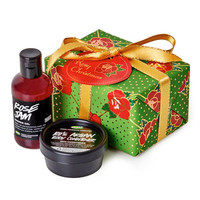 Rosy Christmas - Green Gift