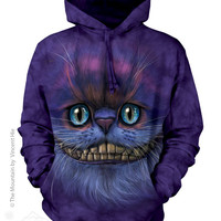 724005 Big Face Cheshire Cat Hoodie