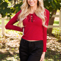 Day By Day Top - Red