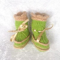 CHEN1ER Ugg boots for baby with duble soles
