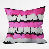 Rebecca Allen Glamour Spill Throw Pillow