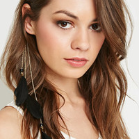 Feather Chain Bobby Pin
