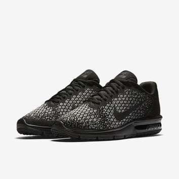 The Nike Air Max Sequent 2 Women's Running Shoe.