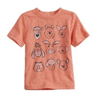 Disney's Winnie the Pooh Toddler Boy Heathered Graphic Tee by Jumping Beans®