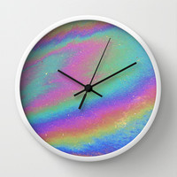 Holographic Wall Clock by Nestor2