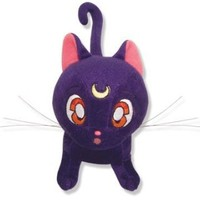 "Great Eastern Sailormoon Luna Stuffed 6.5"" Plush"
