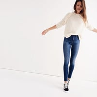 """Short 10"""" High-Rise Skinny Jeans in Danny Wash"""