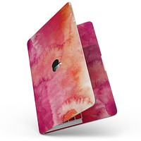 """Pink 971 Absorbed Watercolor Texture - 13"""" MacBook Pro without Touch Bar Skin Kit"""