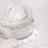 Snowflake Mineral EyeShadow FREE SHIP 5g Sifter by CRUSHCOSMETICS