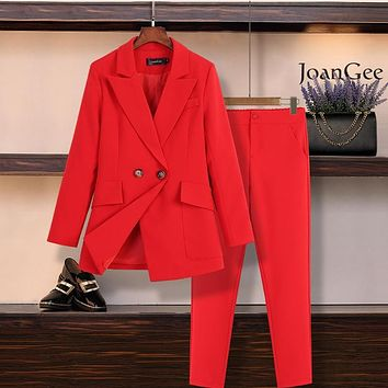 Bestseller! Plus Size Sophisticated Lady Double Breasted Pantsuit (Jacket and Pants Also Sold Separately)