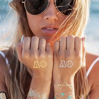 Alpha Phi Tattoo Set - Gifts and accessories - Shop by Sorority