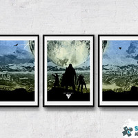 Destiny Guardians, 3 poster set prints/posters