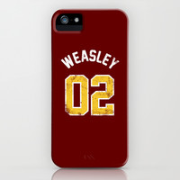 Ron Weasley - Quidditch Number 02 Gryffindor (Harry Potter) iPhone & iPod Case by SOULTHROW