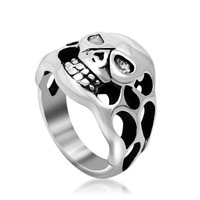 Fashion a Gothic Skull hollow ring the best gift for friend SA148
